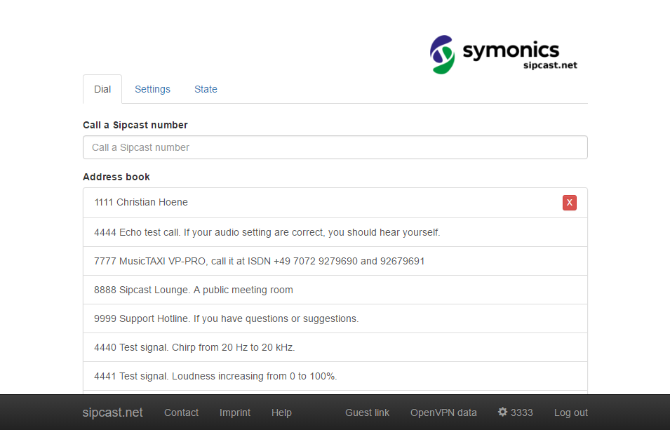Calls and address book symonics gmbh calls and address book solutioingenieria Image collections